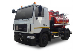 Автотопливозаправщик KrASZ-M4САТ5 (на шасси МАЗ 4381), 5 куб.м.