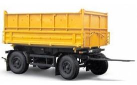 МАЗ-857100-4012 Сельскохозяйственный самосвальный прицеп, г/п 10т.